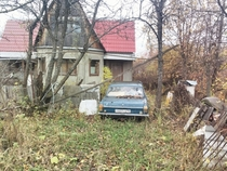 Abandoned house Near Moscow Russia