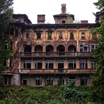 Abandoned house of Bulgarian industrialist Pencho Semov Called the Bulgarian Rockefeller he was the first Bulgarian billionaire