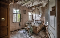 Abandoned House of the Belgian man Antoon