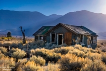 Abandoned House off Highway  June Lakes California  by Jason Refuerzo