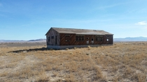 Abandoned house off I- in Nevada