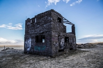 Abandoned House off of Route  in Iceland