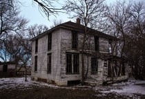 Abandoned House on the great plains of South Dakota