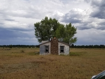 Abandoned House outside Williams AZ Worn out furniture and newspapers from   and