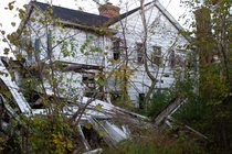 Abandoned house photographed by me