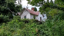Abandoned House Reclaimed by the Wild in NC Highlands