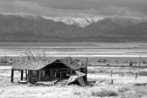 Abandoned House with a View Tooele County Utah