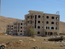 Abandoned Housing Project Al-Auja Palestinian Territories