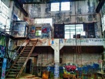 Abandoned Hydroelectric Plant