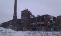 Abandoned ice cream factory Berlin Germany