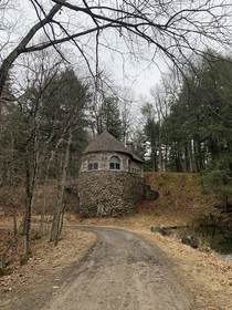 Abandoned ice house in upstate NY