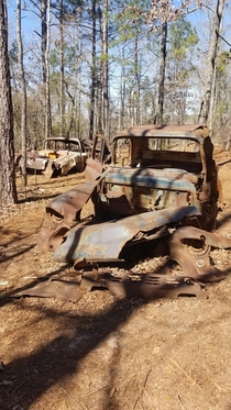 Abandoned in Providence Canyon GA