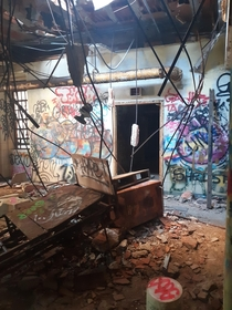 Abandoned insane asylum New York