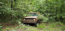 Abandoned International Scout in East Texas