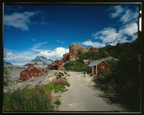 Abandoned Kennecott Copper Works On Copper River amp Northwestern Railroad Kennicott Alaska  by Jet Lowe  x-post rHI_Res