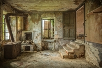 Abandoned Kitchen in Villa di Oriental Italy  by Stefan Baumann