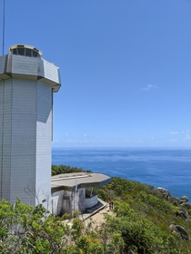 Abandoned light house - Fitzroy island Australia OC