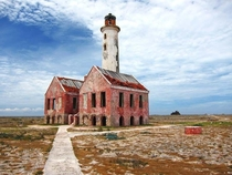 Abandoned lighthouse on Klein Curacao - Dutch Caribbean