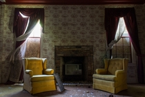Abandoned Living Room Ghost Town Texas