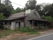 Abandoned local general store in Alabama