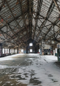 Abandoned locomotive factory in Ohio