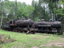 Abandoned Locomotives in The Allagash Northern Maine Woods