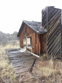 Abandoned Lodge House in Arizona