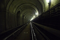 Abandoned London Underground Tunnel beneath the Thames