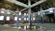 Abandoned Lubricant Factory Grunge Heaven
