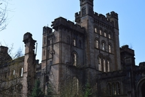 Abandoned Lunatic Asylum in Scotland high up in the hills Stunning on the inside and out