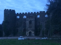 Abandoned Manor House in South Wales