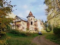 Abandoned manor Tver region Russia