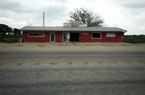 Abandoned market on my bike ride near Gholson TX