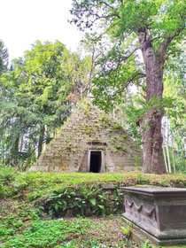 Abandoned Mausoleum in German Woods