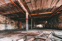 Abandoned meat packaging facility in Washington NJ