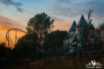 Abandoned Medieval Theme Park in England Obsidian Urbex Photography