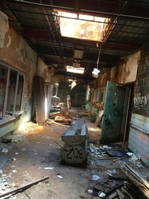 abandoned mental asylum in Pennsylvania I explored yesterday was closed down in the s due to patient abuse and is planned to be demolished by