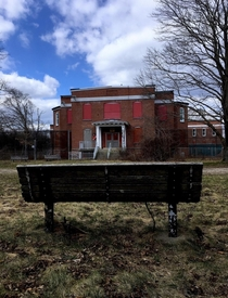 Abandoned mental hospital grounds in Massachusetts AKA the location for your next horror film