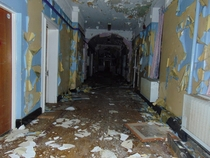 Abandoned mental hospital UK