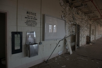 Abandoned Mental Institution Prison Ward