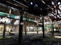 Abandoned Metal FabWeld facility