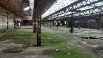 Abandoned metalworkfactory- thing sorry for potato quality