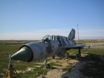 Abandoned MiG- in Afghanistan