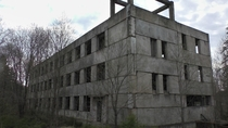 Abandoned military barracks