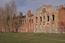 Abandoned military barracks from the times of the Russian Empire before WW
