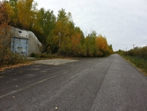 Abandoned military base in Goose Bay NL Canada