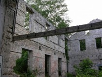 Abandoned mill Elora Ontario