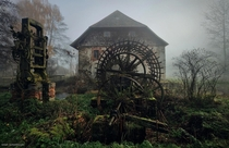 Abandoned mill in France