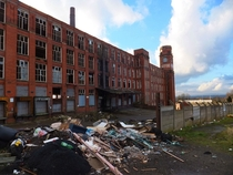 Abandoned Mill in Oldham UK It is being cleared for demolition now Album in comments x