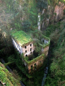 Abandoned Mill in Sorrento Italy x-post from rpics